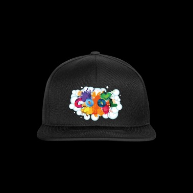 Cool color design bubble - Snapback Cap