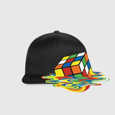 Melting Cube - Casquette snapback