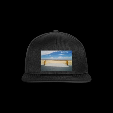 The gate to the desert, gift idea - Snapback Cap