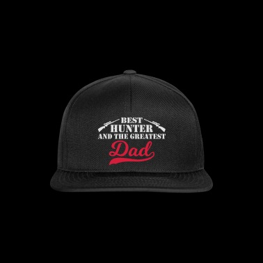 Best Hunter Dad - Snapback Cap