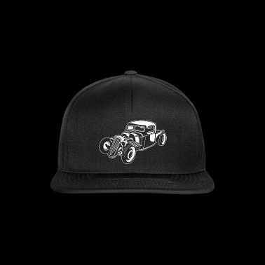 Hot Rod / Rat Rod 08_weiß - Casquette snapback