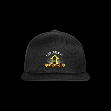 Anniversaire Surprise Niveau Up Gamer Nerd - Casquette snapback