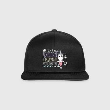 Olen Unicorn & Mermaid Unicorn Mermaid - Snapback Cap