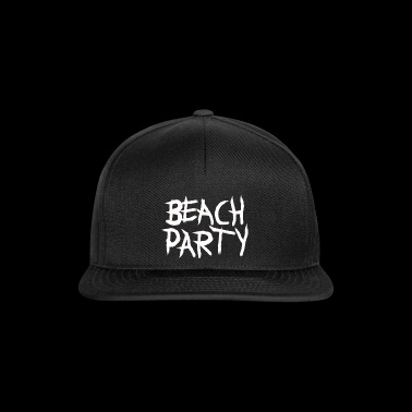 BEACHPARTY_PINSEL - Snapback Cap