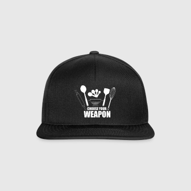 Choose your weapon! - Gift - Snapback Cap
