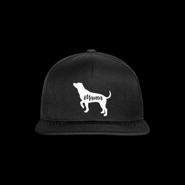 Mama Dog Shirt - Snapback Cap