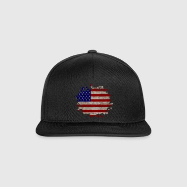 USA / United States of America / Gift - Snapback Cap