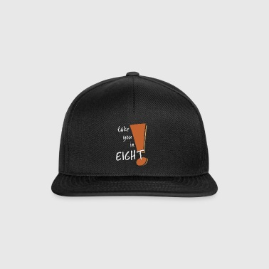 take you in eight sei vorsichtig retro style - Snapback Cap