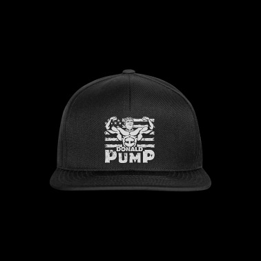 Donald PumP Grey Logo - Snapback Cap