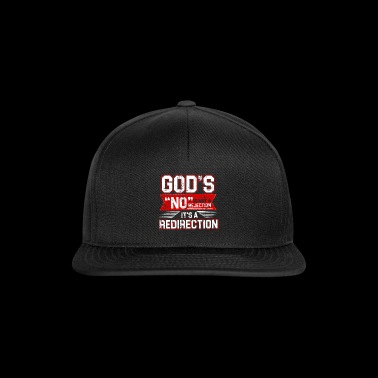 Gods REDIRECTION - Snapback cap
