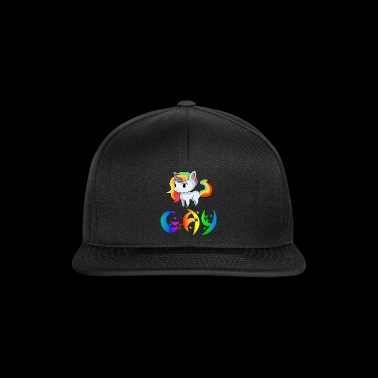 Unicorn Gay - Casquette snapback