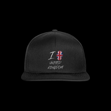 I love United Kingdom - Snapback Cap