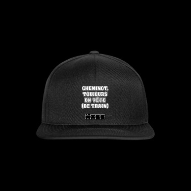 CHEMINOT, ALWAYS IN THE HEAD (OF TRAIN) - Snapback Cap
