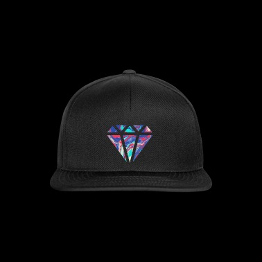 Conception de diamant coloré simple / symbole - Casquette snapback