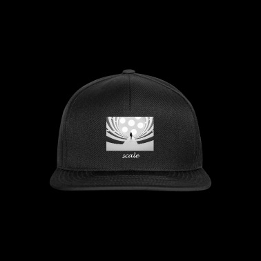 Scale text light Optical illusion gift idea - Snapback Cap