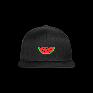 Melon Gift Idea Pixel Food Fruit Juego Retro - Gorra Snapback