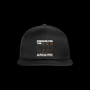 Prepare for the Alpacalypse Alpaca Lovers - Snapback Cap