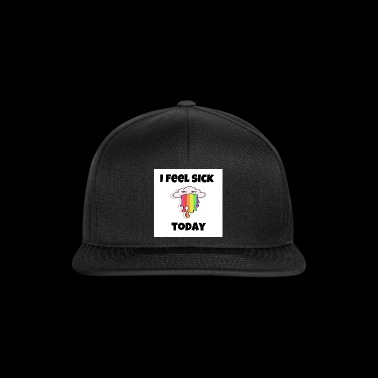 i feel sick - Snapback Cap