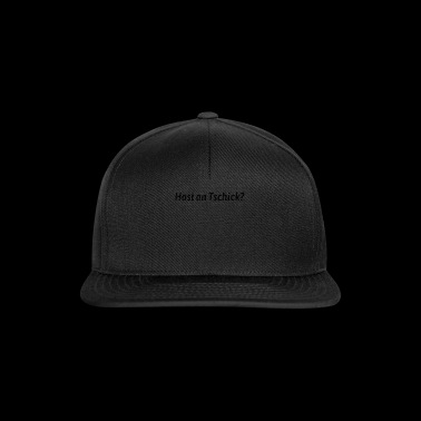 Host an Tschick? Anti-Raucher Satire - Snapback Cap