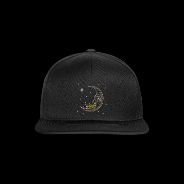 Camping RVing on The Moon - Snapback Cap