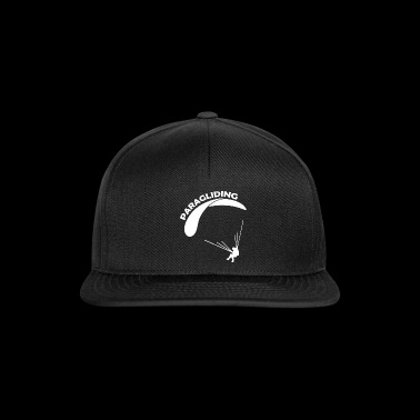Paragliding Sports T-shirt design - Snapback Cap