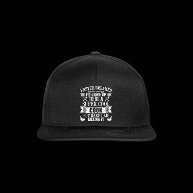 Super Cool Cook - koch - Snapback Cap