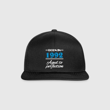 Born in 1992 Aged to perfection - Snapback Cap