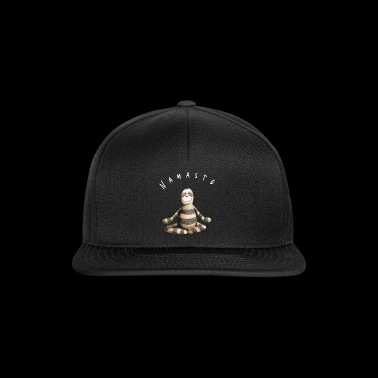 Namaste Sloth Yoga Fun Comic - Casquette snapback