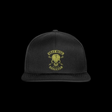 Krav Maga Self Defense Skull - Snapback Cap