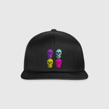 pop art skulls - Snapbackkeps
