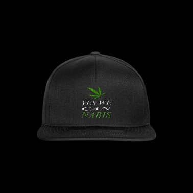 Yes we Cannabis - Snapback Cap