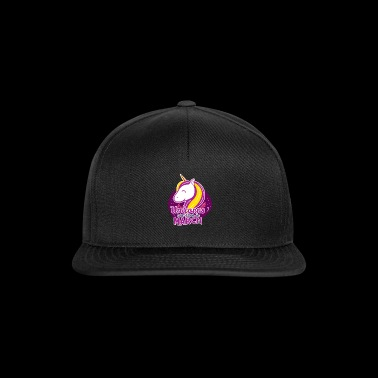 Unicorns are born in march - Snapback Cap