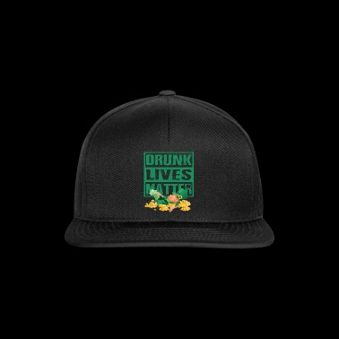 Dronken Lives Matter Kabouter St. Patrick's Day - Snapback cap