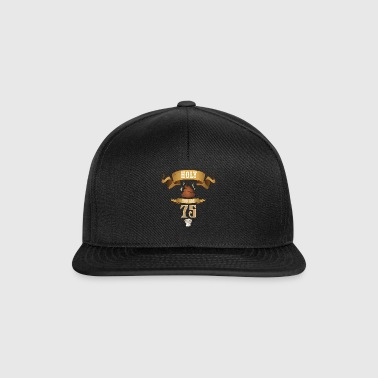 Holy Poop You 75 Funny Birthday Gift - Czapka typu snapback