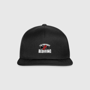 BLUFFING - Snapback Cap