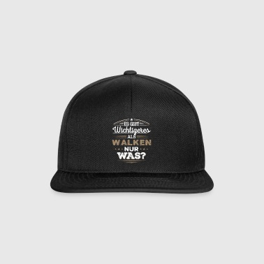 Walken, Walking, - Snapback Cap