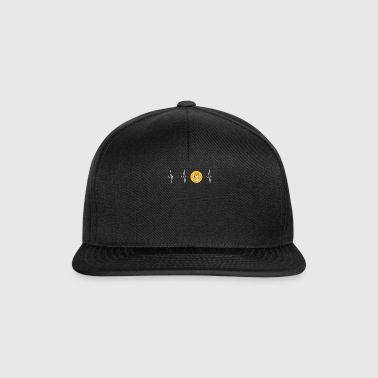 Dogecoin Heartbeat Line-Blockchain Cryptocurrency - Snapback Cap