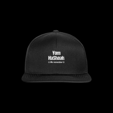 Iom Hashoah Holocaust Remember Jewish Holiday - Gorra Snapback