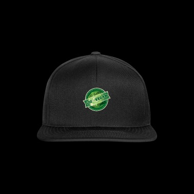 Vegan vegetarian plants animals gift - Snapback Cap