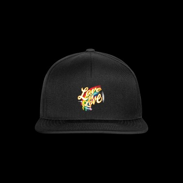 CSD T-Shirt love is love - Snapback Cap