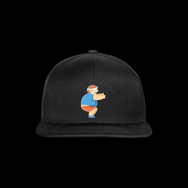 Squat øvelse fed fyr fitness gave ide - Snapback Cap