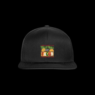 Volleyball et tacos vintage - Casquette snapback