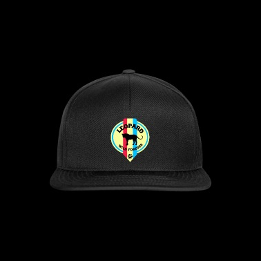 Leopard wild forever / gift / gift idea - Czapka typu snapback