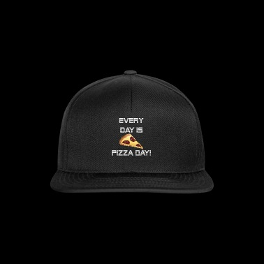 PizzaDayWhite - Snapback Cap