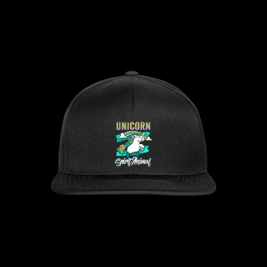 Unicorn Is My Spirit Animal - Unicorn Unicorns - Snapback Cap