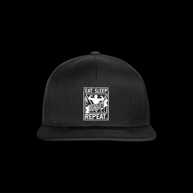 Eat Sleep Deadlift Powtórz - deadlift - Czapka typu snapback