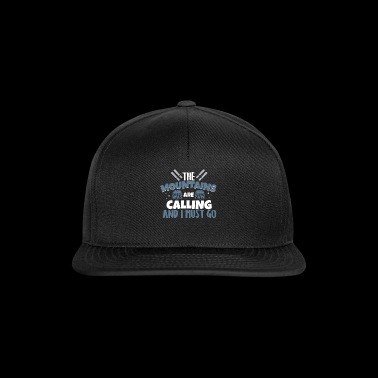 The Mountains are Calling T-Shirt - Snapback Cap