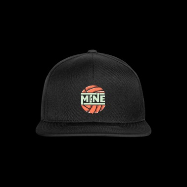 funny love mine volleybal - Snapback cap