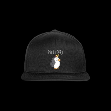 Be A Unicorn Penguin - Unicorn Penguin With Ice - Snapback Cap