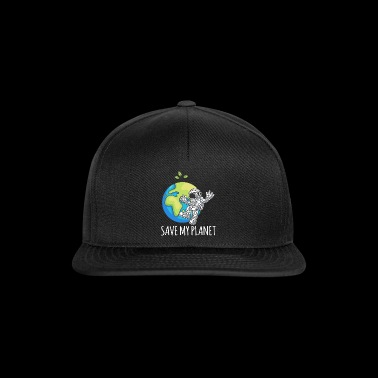 Astronauta Space Day Earth Gift Environment - Gorra Snapback